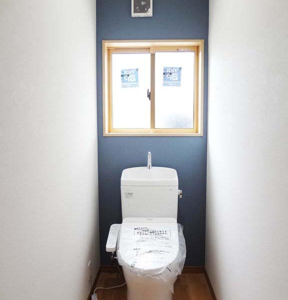 新設しました。綺麗なトイレ!